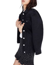 Madewell - Blue Oversize Denim Jacket - Lyst