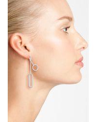 Halogen | Multicolor (r) Geo Linear Drop Earrings | Lyst