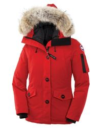 Canada Goose - Red Camp Quilted Jacket - Lyst