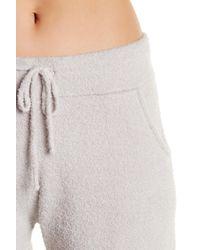 Barefoot Dreams - Metallic Cozychic Pajama Shorts - Lyst
