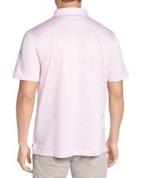 Peter Millar Pink Crown Cool Polo for men