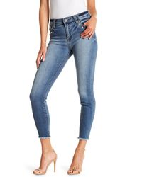 Kut From The Kloth Blue Connie Skinny Ankle High Rise Jeans