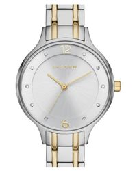 Skagen - Metallic 'anita' Crystal Index Bracelet Watch - Lyst