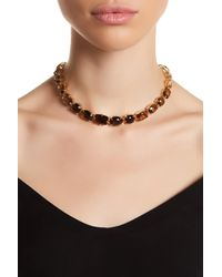 Carolee | Multicolor Ombre Stone Collar Necklace | Lyst