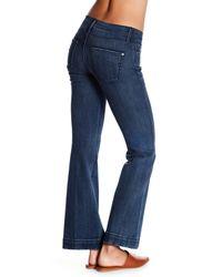James Jeans Blue Shayebel Flare Jeans (petite)