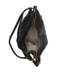 Vince Camuto Black Jonna Convertible Leather Backpack