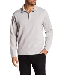 Tommy Bahama Gray Reversible Long Sleeved Sweater for men