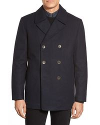 Vince Camuto Blue Classic Peacoat for men