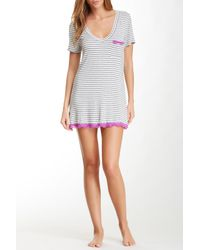 Honeydew Intimates - Multicolor Lace Trim Sleepshirt - Lyst
