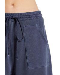 Free People Blue Ventura Raw Hem Sweatpants