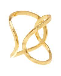 Gorjana | Metallic Taner Interlocking Ring - Size 7 | Lyst
