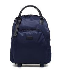 Lipault - Blue Lady Plume Nylon Wheeled Business Carry-on - Lyst