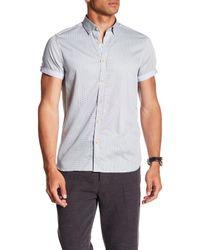 Ted Baker - Blue Geo Print Slim Fit Shirt for Men - Lyst