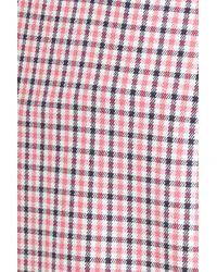 Michael Kors | Multicolor Samantha Check Stretch Cotton Pants | Lyst