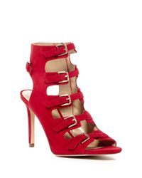 Enzo Angiolini Red Florencia High Heel