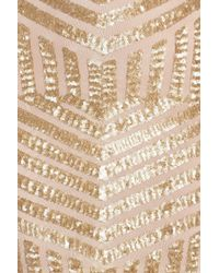 Dress the Population - Metallic 'Tabitha' Geometric Sequin Minidress - Lyst