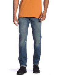 7 For All Mankind - Blue Slimmy Light Wash Jeans for Men - Lyst