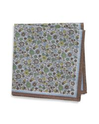 Eton of Sweden - White Floral Pocket Square for Men - Lyst