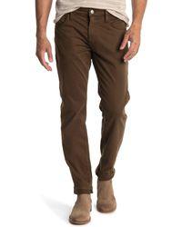 Mavi Marcus Brown Twill Pants for men