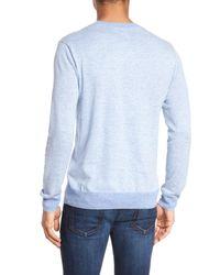 Bonobos - Blue Henley Sweater for Men - Lyst