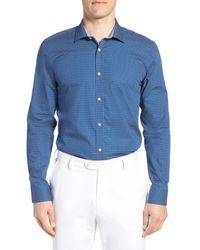 Ted Baker Blue Loops Slim Fit Dress Shirt for men