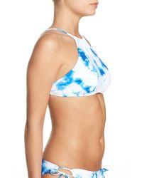 The Bikini Lab | Blue Spacious Skys Bikini Top | Lyst
