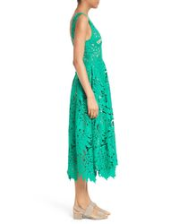Tracy Reese - Green Leaf Lace Frock - Lyst