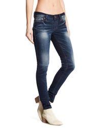 Affliction Blue Raquel Skinny Jeans