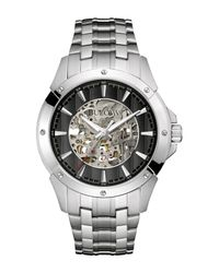 Bulova Metallic Men's Automatic Watch, 43mm for men