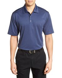 Lone Cypress Pebble Beach - Blue Moisture Wicking Golf Polo for Men - Lyst