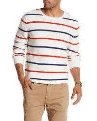 Dockers Multicolor Links Rocket Striped Knit Sweater for men