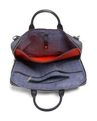 Jack Spade - Gray Tech Oxford Briefcase - Lyst