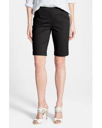Jag Jeans Black Ainsley Slim Bermuda Shorts