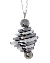 Botkier - Metallic Beehive Pendant Necklace - Lyst