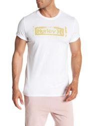 Hurley - White Roller Crew Neck Graphic Tee for Men - Lyst