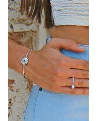 Liza Schwartz - Metallic Elegant Cz Nut Drawstring Bracelet - Lyst