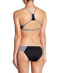 Rip Curl Black Mirage High Neck Bikini Top
