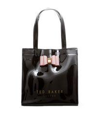 Ted Baker - Black Jenacon Core Small Icon Tote Bag - Lyst