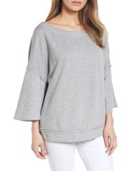 Caslon Gray (r) Split Sleeve Sweatshirt
