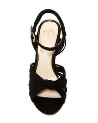 Jessica Simpson Black Evy Stiletto Sandal