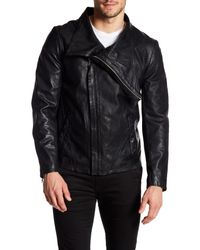 Lamarque - Black The Blade Leather Jacket for Men - Lyst
