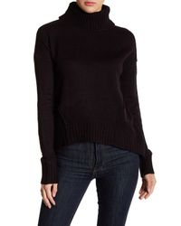 Romeo and Juliet Couture Black Cozy Turtleneck Sweater