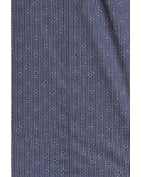 John Varvatos - Blue Trim Fit Sport Shirt for Men - Lyst