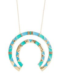 House of Harlow 1960 - Blue Nelli Pendant Necklace - Lyst