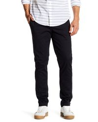 "Original Penguin | Black Bedford Solid Stretch Pants - 32"" Inseam for Men 