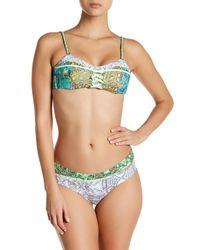Maaji - Green Key Lime Ride Chi Chi Cut Reversible Bikini Bottom - Lyst