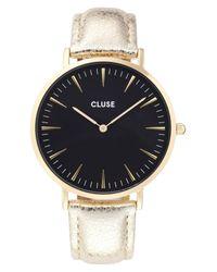 Cluse - La Boheme Metallic Strap Watch - Lyst