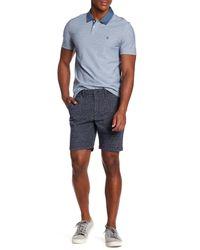 Original Penguin Blue Floral Print Shorts for men