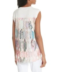 Ted Baker Natural Clariey Sea Of Clouds Top