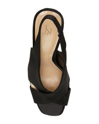 Imagine Vince Camuto - Black Wrennie Slingback Sandal - Lyst